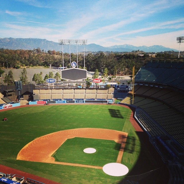 estadio dodgers @madonnaatemybaby
